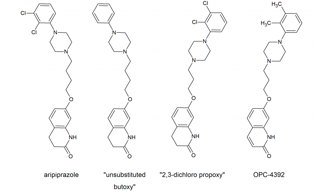 companies had challenged the obviousness of the chemical structure    Abilify Structure