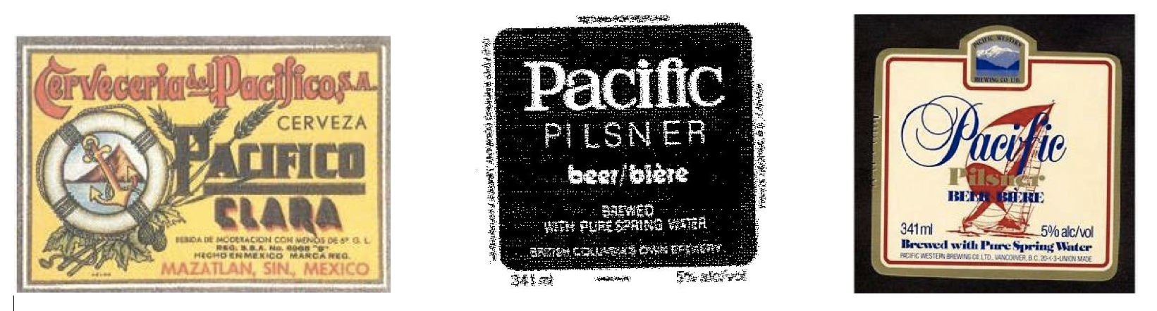 Pacifico land pacific labels